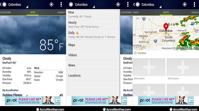 九款海外精美安卓手机天气应用3