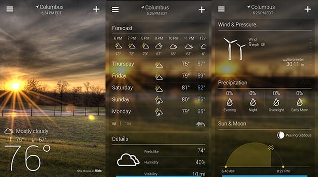 九款海外精美安卓手机天气应用7