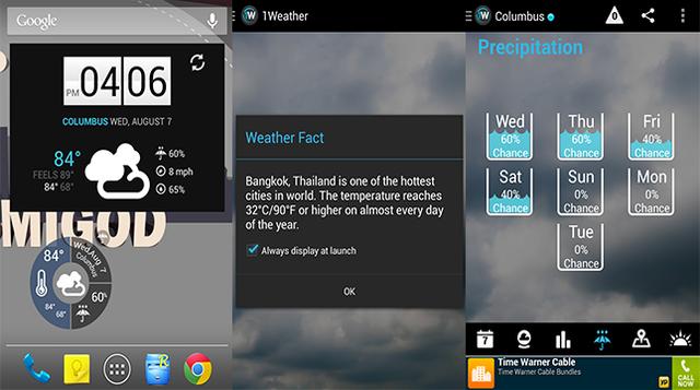 九款海外精美安卓手机天气应用9