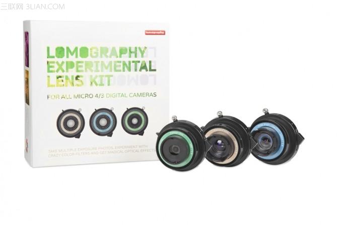 LOMOGRAPHY 无反实验镜头套装1
