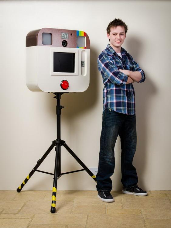 DIY巨型 Instagram 相机一台12