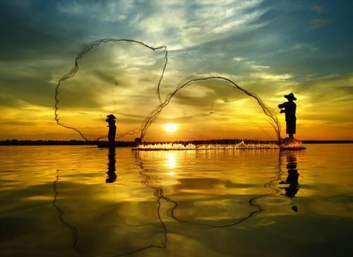 3招拍出绝美水景剪影1