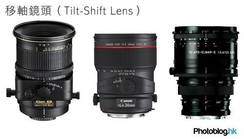 甚么是特殊镜头∶移轴镜头、微距镜头、鱼眼镜头?2