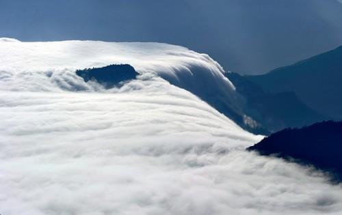 3个小窍门打造出壮观的高山云海2
