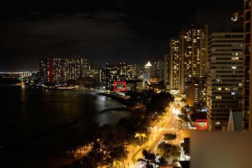 夜景魅力 尼康D5200高感光度原片解析5