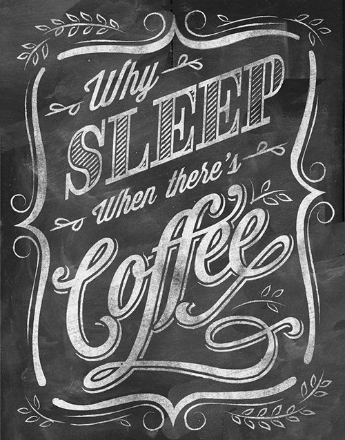 chalkboard quotes for coffee lovers图片