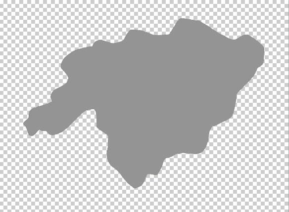 Photoshop绘制逼真的绿色地图2