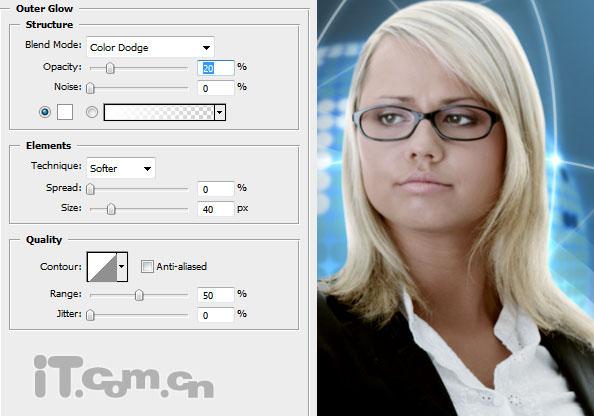 Photoshop合成电影中科技通讯效果20