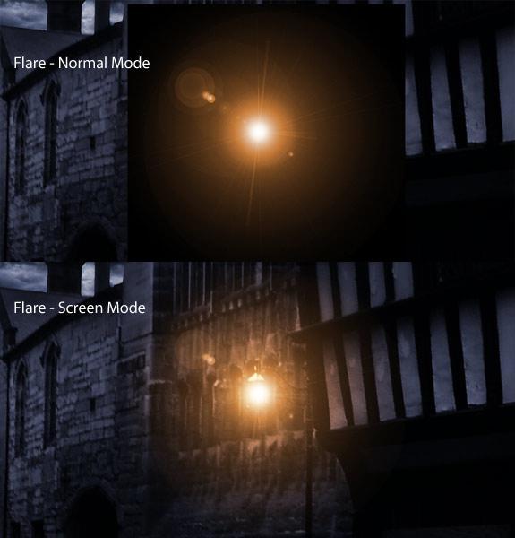 Ps合成技巧之光线和阴影16