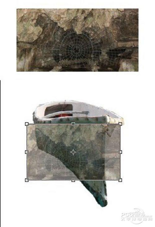 Photoshop合成恐怖效果的幽灵鬼船7
