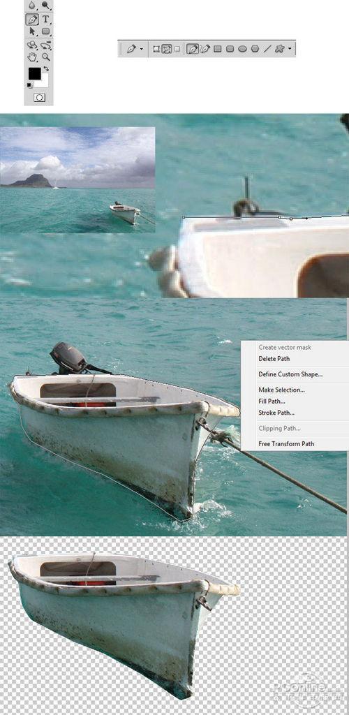 Photoshop合成恐怖效果的幽灵鬼船3