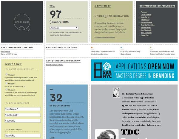 15个创意纷呈的灵感发掘网站12