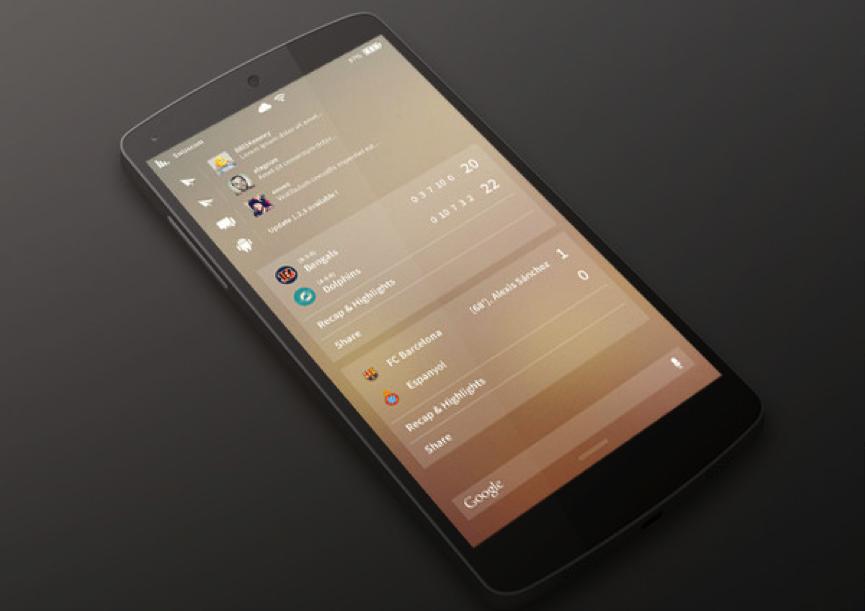 手机APP模糊背景设计的优雅3