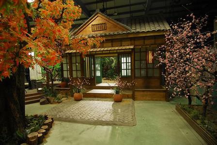 日式别墅庭院设计及效果图