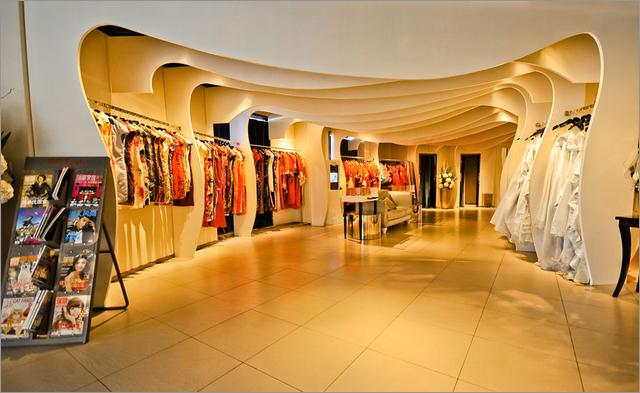 八月照相馆·婚纱造型馆装修案例1