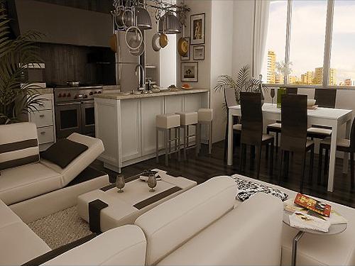 60平米小户型客厅装修效果图大赏析