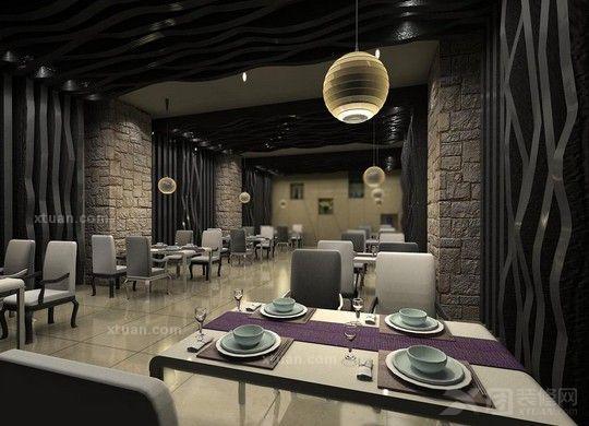 餐厅装修中的人文设计1