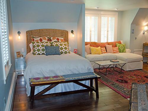 50平米小户型装修效果图,小户型卧室设计案例2
