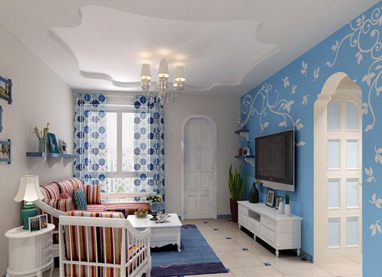 地中海风格背景墙装修,让你感受浪漫气息14