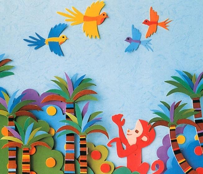 幼儿园墙面设计图片
