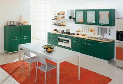 8款多彩厨房设计5