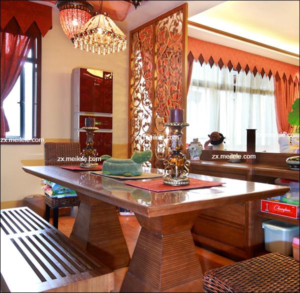 130平三居室装修之绿色东南亚的奇妙之旅3
