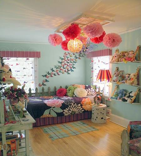 缤纷童话小空间儿童房设计效果图4