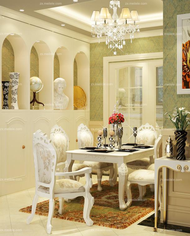 欧式风格别墅室内装修效果图3