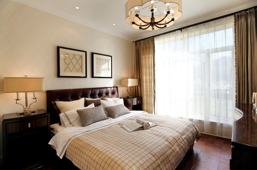 90平米样板房美式空间的品质生活3