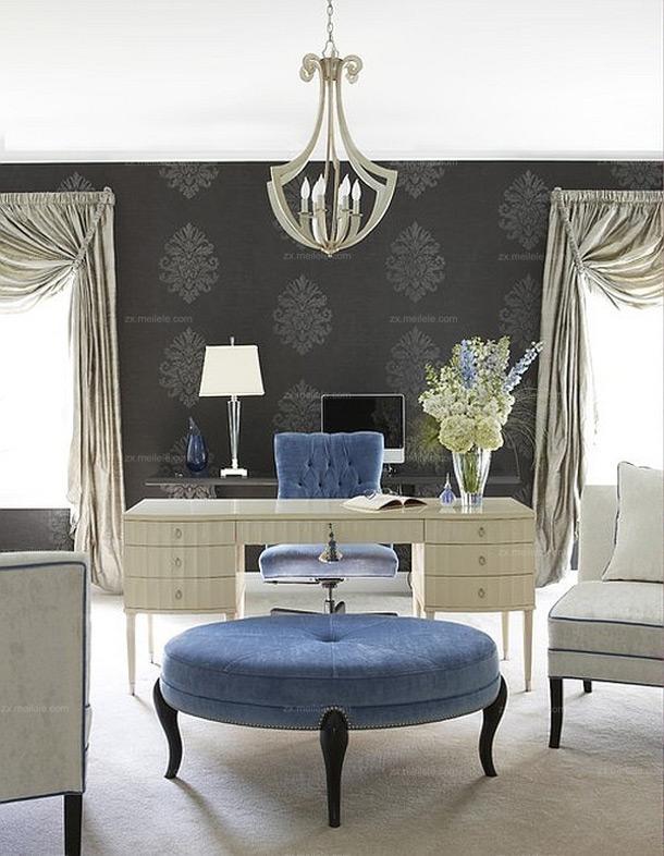 欧式风格别墅室内装修效果图6