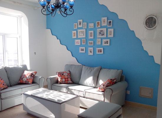 地中海风格背景墙装修,让你感受浪漫气息15