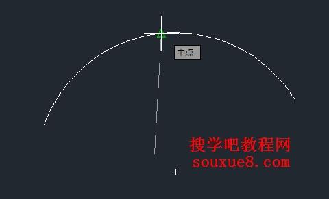 CAD对象栏教程使用捕捉实例_AutoCAD状态-cad怎么45度换图片