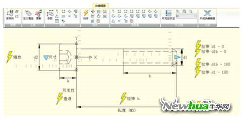 浩辰CAD教程之动态块创建_浩辰CAD教程-查体筒CAD图图片