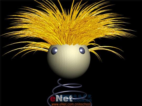 3DS MAX教程:可爱的金发小布偶玩具1