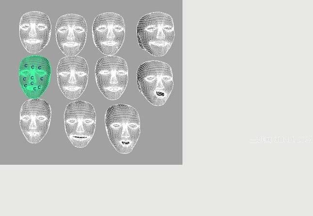 Maya制作脸部表情的动画教程9