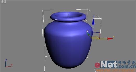 3dmax9.0市政:详细打造真实的酒坛子_3DSMA图纸电缆沟教程图片