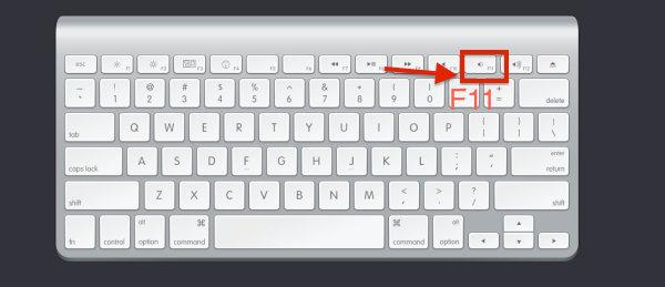Mac切换桌面快捷键操作教程2