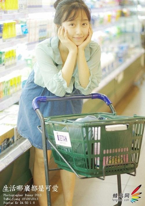 巧用闲暇时间 教你在超市拍出清新生活照12