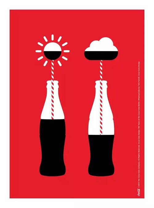 百年可口可乐平面广告作品欣赏10