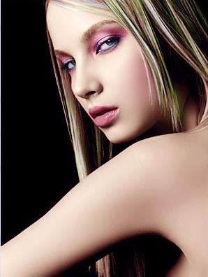 利用photoshop调整图层给黑白照片上色教程3