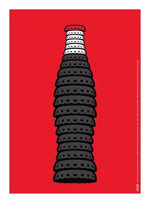 百年可口可乐平面广告作品欣赏15