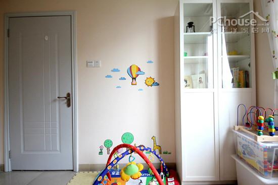 儿童房收纳有技巧,打造趣味童年18