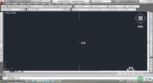 利用CAD画有角度有长度的直线5