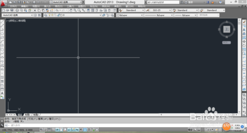 利用CAD画有角度有长度的直线3