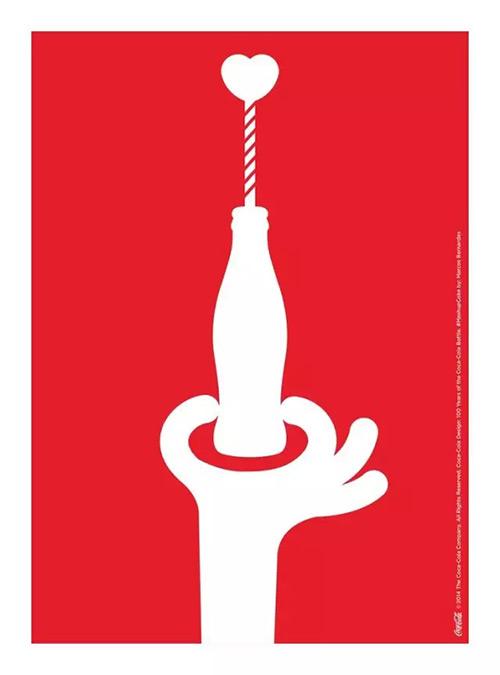 百年可口可乐平面广告作品欣赏30