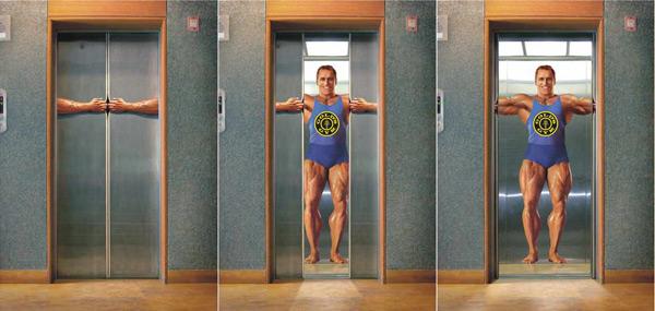 电梯创意广告汇总欣赏2