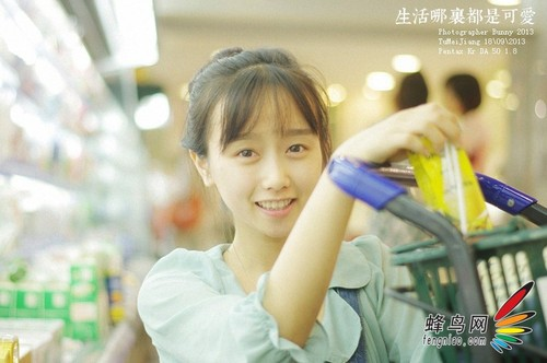 巧用闲暇时间 教你在超市拍出清新生活照7