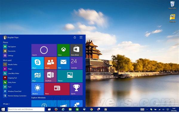 Windows 10正式版确定于7月底发布1