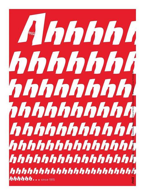 百年可口可乐平面广告作品欣赏13