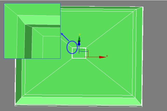 3DSMAX制作绿色排气扇3d建模7